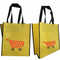 Non-woven Tote Bag With Front Pocket
